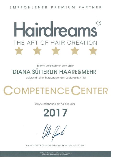 Auszeichnung Hairdreams 2017